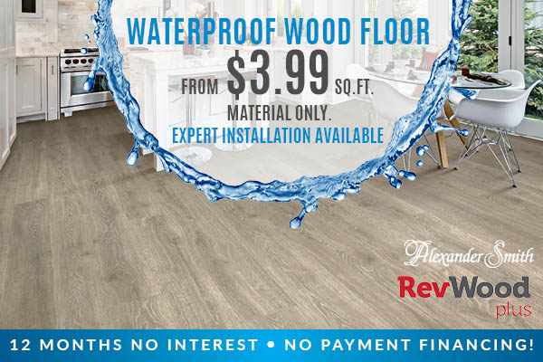 Alexander Smith Revwood Plus Waterproof Flooring On Sale Baton