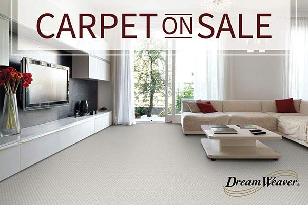 Dream Weaver carpet starting at $1.35 sq.ft. this month at LaCour's Carpet World in Baton Rouge.