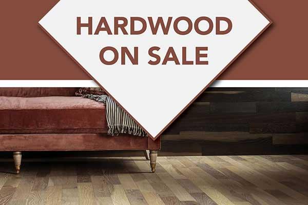 Hardwood Flooring on sale LaCour's Carpet World in Baton Rouge
