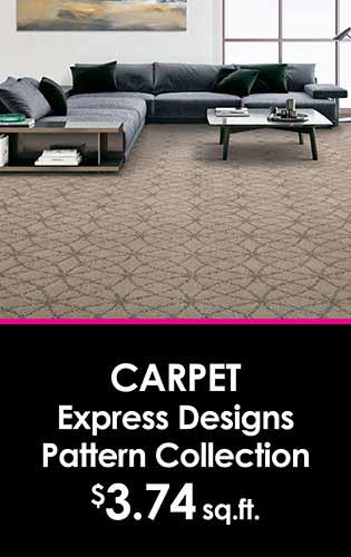 Carpet Express Designs Pattern Collectioni $3.74 sq.ft. at LaCour's Carpet World